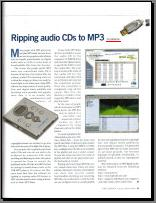 Ripping Audio CDs to MP3